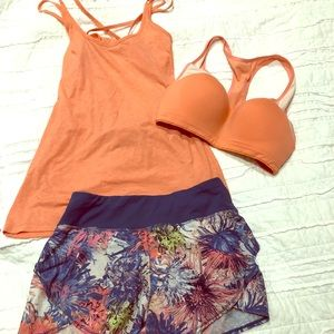 Small calia athletic workout outfit